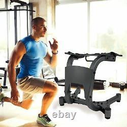 NewAdjustable Dumbbell Stand for SelectTech 552 1090 Dumbbells Steel Rack Gym US