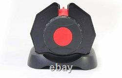 New & Sealed Adjustable Dumbbell 24kg (48kg Pair) Black