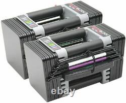 POWERBLOCK Elite EXP Dumbbell 2020 Model 501-00096-01 PAIR INHAND FEDEXOVERNIGHT