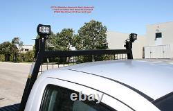 Pickup Headache Rack Truck Cab Rear Window Protection Adjustable Steel Guard