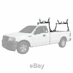 Pickup Truck Utility Ladder Racks with 2 Pair Kayak J Rack (8) Mounting Clamps