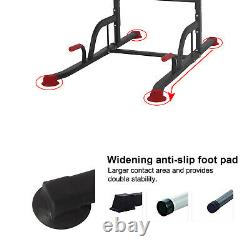 Polar Aurora Power Tower Workout Dip Station Pull Up Dip Exercise Equipment