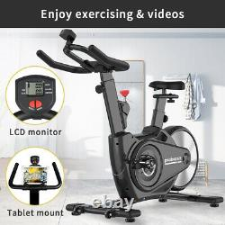 Pooboo Indoor Cycling Magnetic Resistance Stationary Cardio Cycle Exercise Bike