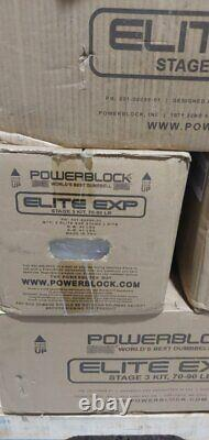 PowerBlock Elite EXP Stage 3 Kit (2020 model) BRAND NEW SEALED SHIPS NOW FAST