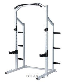 Power Rack Weight Lifting Squat Stand Strength Training Home Gym Power Cage