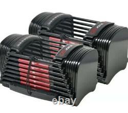 Powerblock 50 Adjustable Dumbbells Set (PAIR of 2)NEW SHIPS FAST