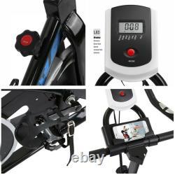 Pro Exercise Bike Cycling Stationary Bike Fitness Gym Bike Cardio Workout US