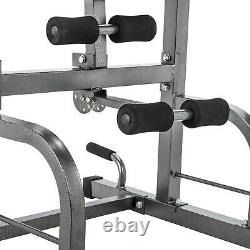Pull Up Bar Power Tower Adjustable Height for Indoor Home Gym Fitness