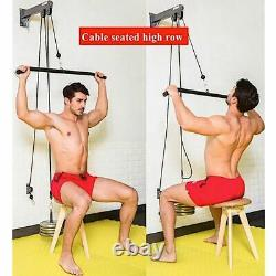 Pulley Cable Home Gym Equipment Strength Training Apparatus Workout Accessories