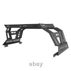 Roll Bar High Bed Rack Top Luggage Carrier Baggage For Dodge Ram 1500 2009-2018
