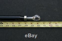 Seatbelt/Seat Belt Harness Bar Kit Black 47-52.5 Adjustable Universal