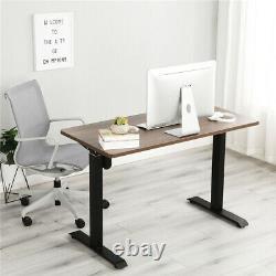 Standing Desk Electric Height Adjustable PC Workstation Home Office Desks Room