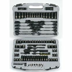 Stanley 92-839 Max-Drive Black Chrome and Laser Etched Socket Set, (99-Piece)