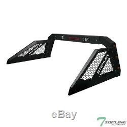 Stehlen Adjusable Steel Chase Rack Truck Roll Bar with3rd Brake Lamp+LED+Amber TCD