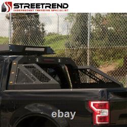 Stehlen Adjustable Truck Bed Chase Rack 3rd Brake Lamp+LED+Amber Lights ST2B
