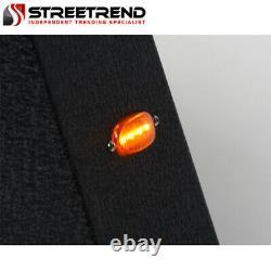 Stehlen Adjustable Truck Bed Chase Rack+Side Rail+Brake Lamp+LED Textured Blk S7