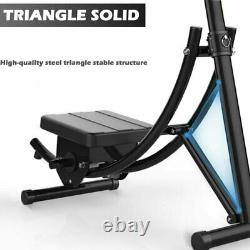 US Abs Abdominal Exercise Machine Ab Crunch Coaster Fitness Body Muscle Workout