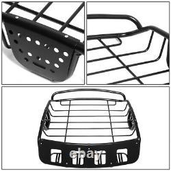 Universal Adjustable Heavy Duty Steel Roof Rack Cargo Basket Luggage Carrier