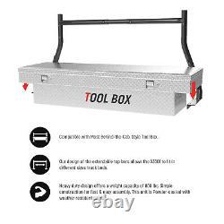 Universal Pickup Truck Ladder Rack 800Lbs Steel Adjustable Utility Kayak Lumber