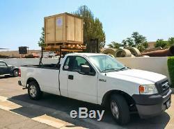 Universal Pickup Truck Ladder Rack Adjustable 800Lb Contractor Lumber Utility