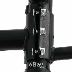 Universal Pickup Truck Ladder Rack with 55'' Ext Side Bar for Boat Kayak Utility
