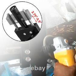 VEVOR Mower Blade Sharpener Lawn Mower Frame 7-14 cm Adjustable With Bearings