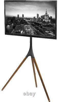 VIVO Artistic Easel 45 to 65 Screen Studio TV Tripod Adjustable Floor Stand