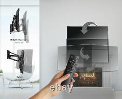VIVO Steel Electric Adjustable TV Above Fireplace Mount for 37 to 70 Screens