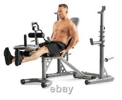 WEIDER XRS 20 Squat Rack Weight Lifting Bench Press Exercise Workout NEW