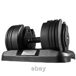 Weight Adjustable Dumbbell 5-45lbs, Fitness Workouts