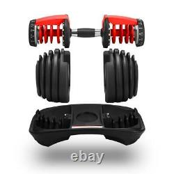 Weight Adjustable Dumbbell 5-52.5l Fitness Workouts Dumbbells tone your strength