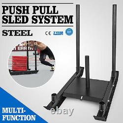 Weight Sled System Push Pull Drag Power Speed Athlete Training Strength Workout