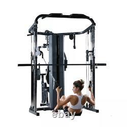 Y Fitness Multi Function Home Gym Smith Machine Cage Pro System 25+ Functions