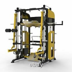 Y Fitness TS-114 Smith Machine Jammer Arm Function System Home Gym Rack Station